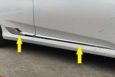 S/steel Body door Side Molding Chrome Trim sill Cover For Honda Civic 2016 2017
