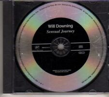 (CX304) Will Downing, Sensual Journey - 2002 DJ CD