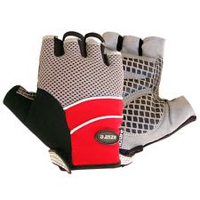 BMX Mountain Bike Bicycle Half Finger Cycling Gloves Palms Padded Cycle Mitts XL