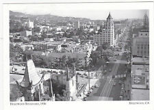 "*Postcard-""Hollywood Boulevard, 1936""  .... @ Hollywood, Ca. --CLASSIC! (#34)"