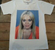 Lindsay Lohan Mugshot T shirt Sm, Med, Lge, XL  Mean Girls