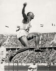 "Jesse Owens Running Track Olympic Photo 11""x14"" Print 6 Long Jump"