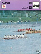 FICHE CARD : 2. AVIRON ROWING 70s