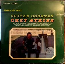 Sealed CHET ATKINS LP - MORE OF THAT GUITAR COUNTRY - RCA LSP 3429, 1965