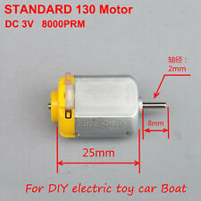 DC 1.5v ~ 6v 3v 8000rpm 130 Motor Toy Car Motor Mini Small DC Motor for DIY Boat