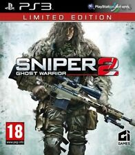 Sniper 2 Ghost Warrior Limited Edition PS3 NEW SEALED FAST DISPATCH