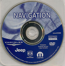 2006 2007 2008 Dodge Caliber / Ram Truck / Viper Navigation DVD Map 2012 Update