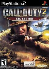 Call of Duty 2: Big Red One (PlayStation PS2) Blood, Language & Violence! *NEW*