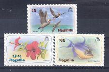 Anguilla Scott 477-479 Mint NH high values (Catalog Value $58.50)