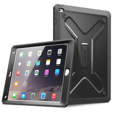 Poetic Revolution Shockproof Heavy Duty Rubber Case for Apple iPad Air 2 Black