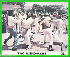 "BUD SPENCER & TERENCE HILL in ""The Two Missionaries"" Orig. COLOR LOBBY CARD 1974"