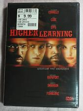 Higher Learning (DVD, 2001) 1995-Brand New, Singleton Connelly Cube Epps  LZ