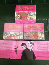 Harry Potter Audio Book CD Philosopher's Stone - Read By Stephen Fry