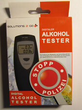 "Digitaler Alkoholtester  ""SOLUTIONS 2 GO"""