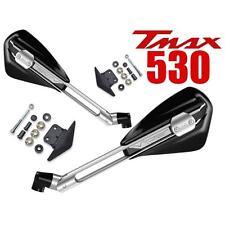SPECCHI SPECCHIETTI FAR VIPER 1 MANUBRIO YAMAHA TMAX 530 2012 ALU / NERO T-MAX