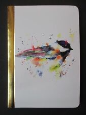 Bird Pocket Travel Journal diary Sketch Book Nature Watercolor poetry dreams