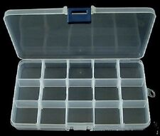 Bead/Findings Plastic Storage Box, 17.5cm great for Jewellery Making