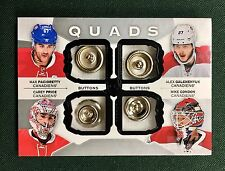 15 16 Upper Deck The Cup Quads Buttons Carey Price Alex Galchenyuk 1/1 C4-HABS