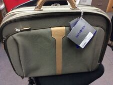 STILL WITH TAGS! SAMSONITE HOMMAGE TRAVEL BRONZE/NATURAL , RETAIL FOR 168.00,