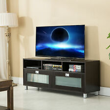 TV Stand Cabinet Media Center Console Wood Storage Home Entertainment Furniture