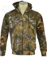 Mens Jungle Army Fishing Camouflage Camo Hooded Top Hoodie S M L XL XXL