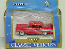 ERTL - CHEVROLET CHEVY BEL AIR COUPE 1957 ROUGE