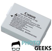 Battery for Canon Rebel T2i T3i T4i T5i EOS 550D 600D 650D 700D X5 X6i X7i LP-E8