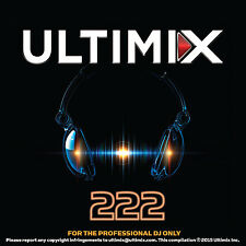 Ultimix 222 CD Ultimix Records Justin Bieber JoJo Taylor Swift OMI Lil' Jon