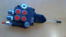 2 spool hydraulic JOYSTICK control valve 11gpm, double acting cylinder spool