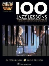 100 Jazz Lessons: Keyboard Lesson Goldmine Series Book/2-CD Pack, Deneff, Peter,