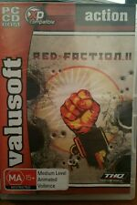 Red Faction II (2 discs) PC GAME - FREE POST