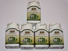 400mg Indian Mulberry Noni Herbal  5 Bottles - 350 Capsules  Abhaibhubejhr
