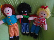 Knitted Ghully Dolls  46cms  boy + girl removable clothes   PATTERNS ONLY