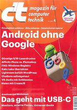 c't Magazin, Heft 4/2017 vom 4.2.2017: Android ohne Google  ++ wie neu ++