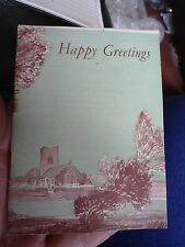 VINTAGE RELIGIOUS EPHEMERA HAPPY GREETINGS WITH DAILY TEXTS FOR EVERY DAY