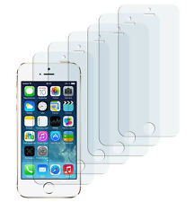 6 x iPhone SE 5 5S 5C Matt Folie Antireflex Schutzfolie Displayschutzfolie