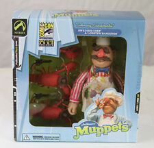 The MUPPETS SWEDISH CHEF & LOBSTER BANDITOS FIGURE SDCC 2003 Exclusive MOC