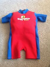Body Glove for Kids Child's Floatsuit Wetsuit Size Small 30 To 40 Lbs Used