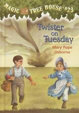Magic Tree House #23: Twister on Tuesday-ExLibrary