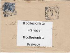 Busta di lettera annullata dall'ufficio Postale Italiano di Salonicco
