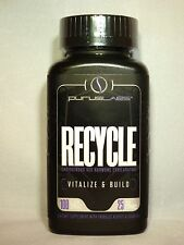 Purus Labs RECYCLE Testosterone Booster PCT Hormone Exhilirator 100 Caps