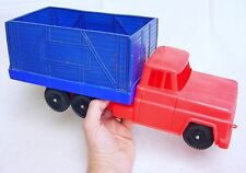 Bambola Italy 1:15 FORD F-500 STAKE TRUCK Plastic 41cm Model NM`60 VERY RARE!
