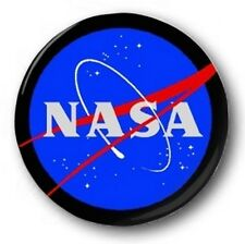 NASA LOGO - 1 inch / 25mm Button Badge - Space Apollo Moon Astronauts Shuttle