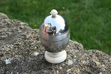Vintage Heatmaster Chrome Insulated Egg Cup – Retro Design! –