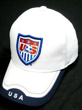 USA US America White Soccer Country Hat Cap EMBROIDERED Patch Rhinox World Cup
