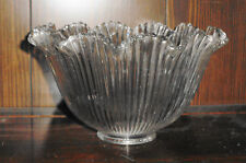 Antique Halophane Prismatic Glass Globe Shade - 3 Available
