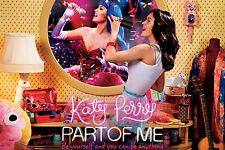 Katy Perry 24X36 In Excitation Motivational Art Silk Fabric Poster Print
