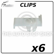 Clips Windscreen Window Clip Peugeot 207/307 Pack of 6 Part Number: 11541