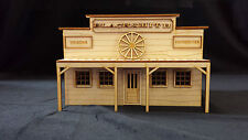 Model O Scale Blacksmith Store Front unfinished wood train railroad building