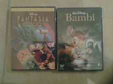 24652//FANTASIA 2000 EDITION SPECIALE + BAMBI  DVD NEUF (IMPORT LANGUE FRANCAISE